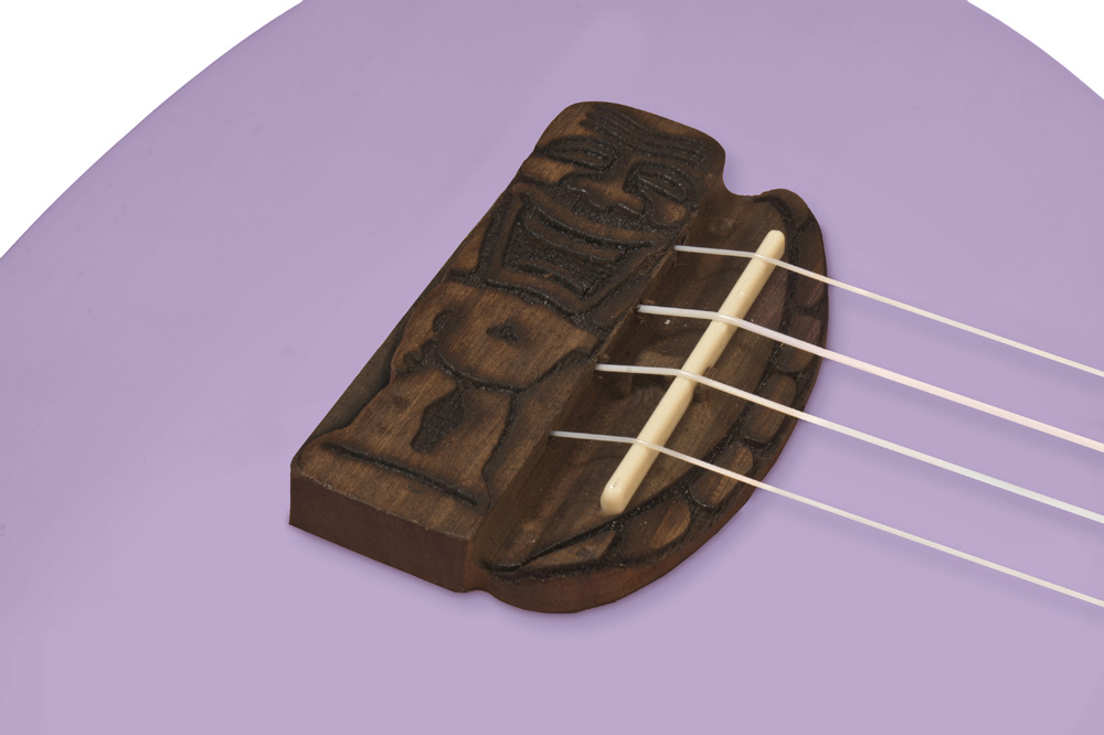 Kohala Tiki Uke ukulele bridge