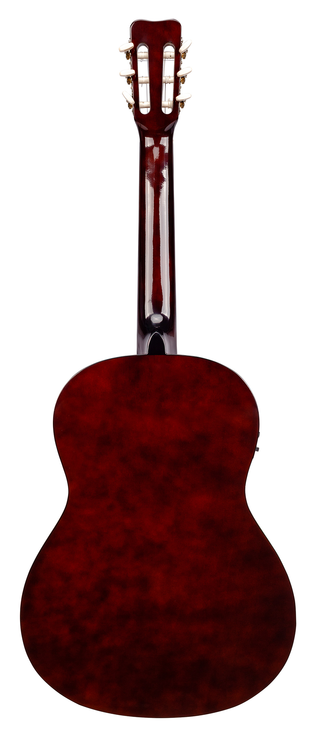 full size nylon string acoustic electric guitar w pickup onboard tuner and bag kohala ukuleles. Black Bedroom Furniture Sets. Home Design Ideas