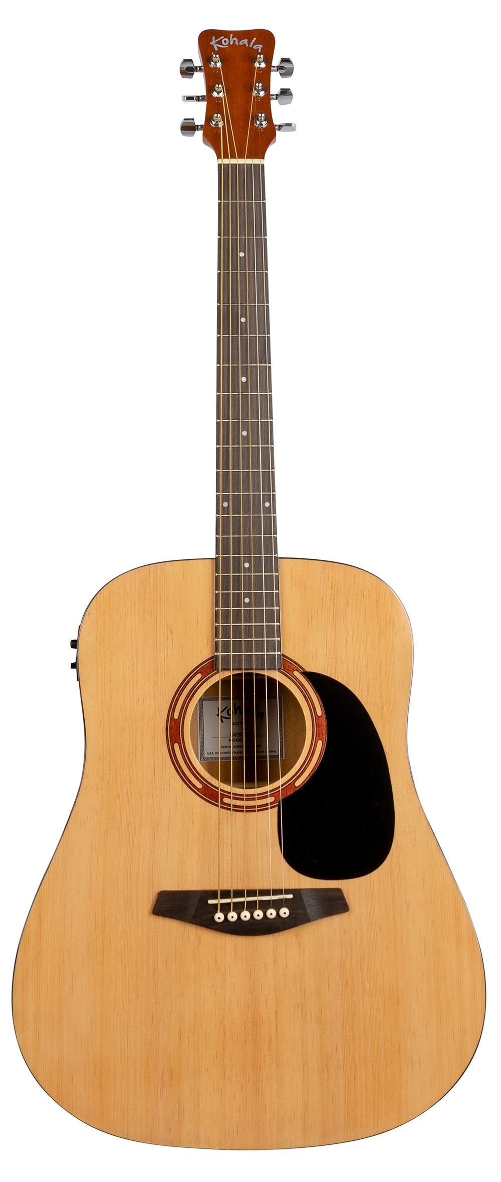 Full Size Steel String Acoustic Electric Guitar W Pickup Onboard